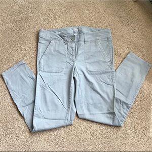 LOFT 6 Gray Modern Skinny Jeans